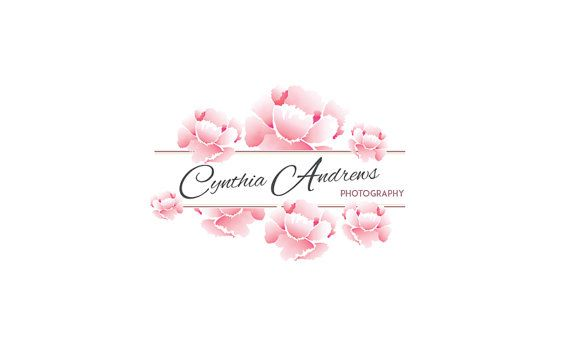 Premade Logo Design  Rose Logo  Photography Logo  by GraphicNStyle