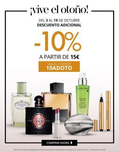 -10% adicional en tu pedido en Paco Perfumerias
