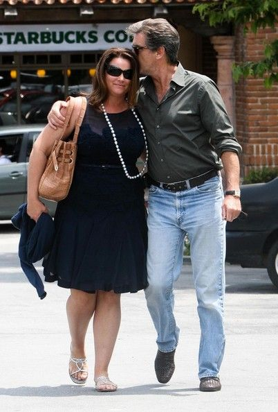 Pierce Brosnan with Keely Shaye Smith - One of the few men who stay loyal and love their wives even if she's not a size 2 anymore. So good to see in Hollywood!