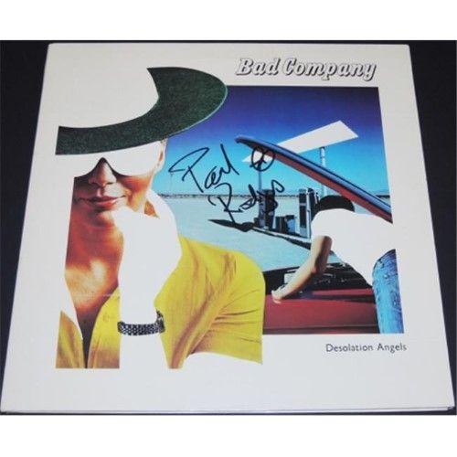 Real Deal Memorabilia Paulrodgersalbum J Paul Rodgers Autographed