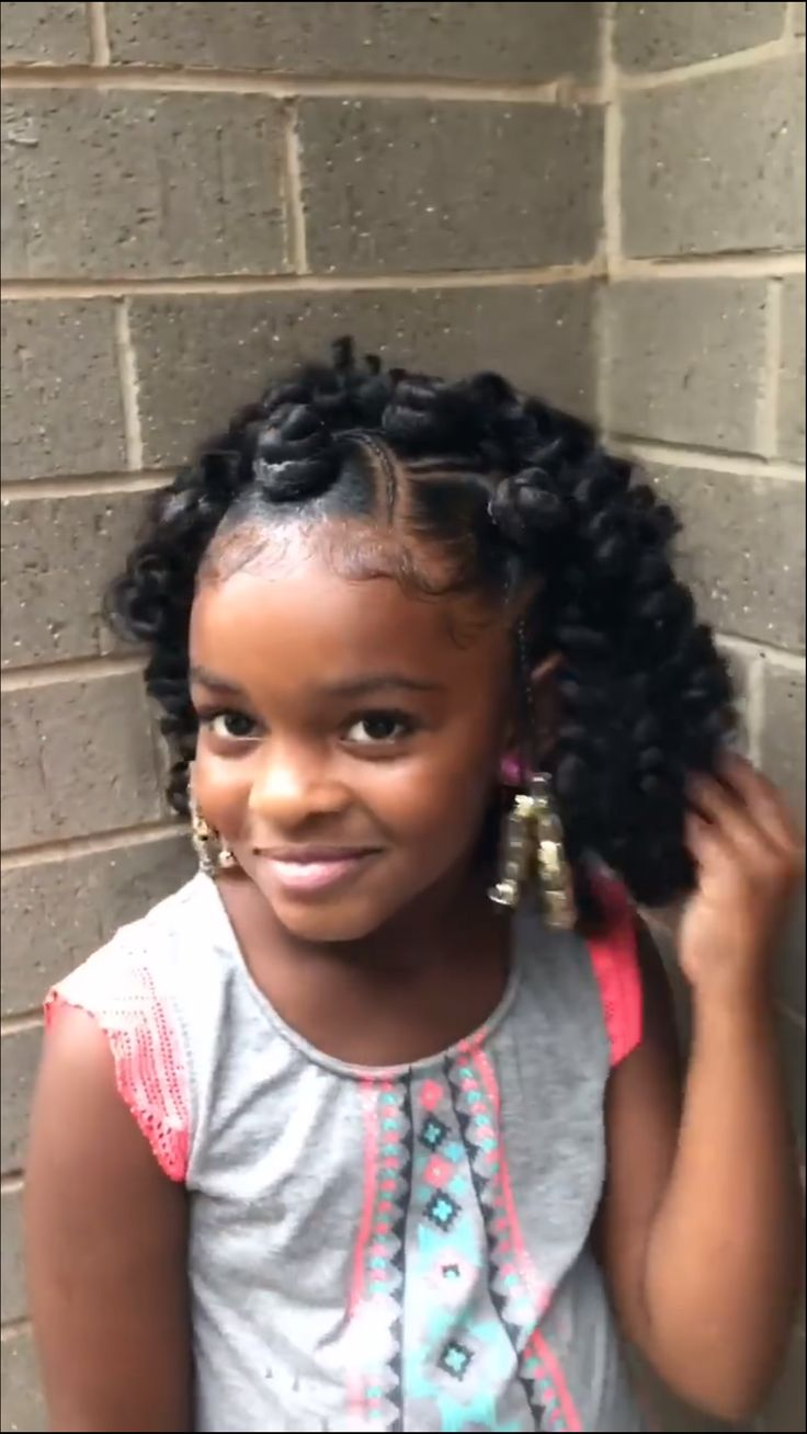 Pin By Jesmin Russell Willis On Kids Hairstyle Black