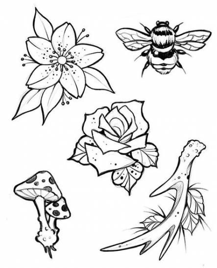 40 Ideas for tattoo old school rose design ink