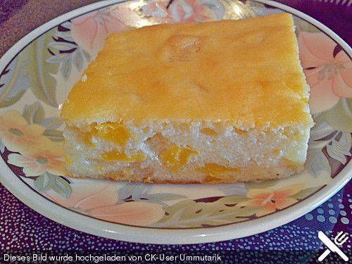 Quark - Grieß - Pfirsich - Auflauf