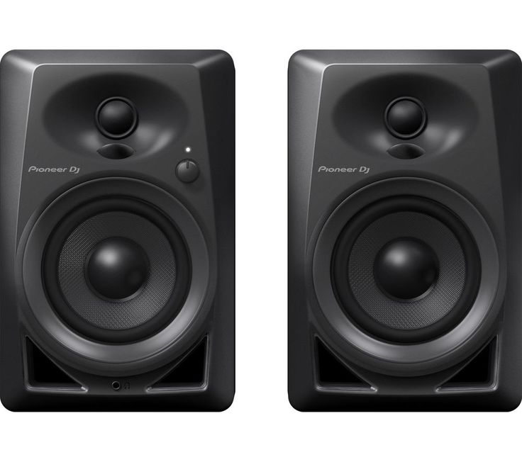 Buy PIONEER DM-40 Powered Monitor Speakers Price: £129.99 Top features:- Crisp 3D stereo sound with a wide sweet spot for quality audio - Tight bass response from two 4-inch fiberglass woofers for power and definition - Class AB amplifiers for low distortion and balanced response with zero crossover Crisp 3D stereo soundEnjoy your music with superior clarity and detail. These Pioneer DM-40...