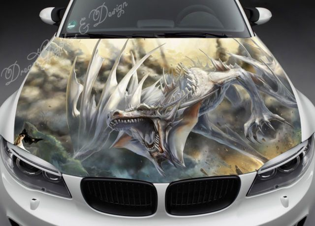 Best My Magyk Car Images On Pinterest Dragons Car Seat - Custom vinyl decals for car hoodsfull color graphic vinyl sticker decal skull ghost fit car hood