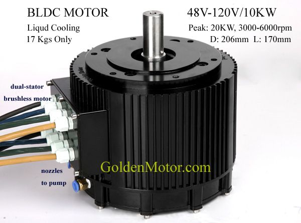 Brushless Motor Bldc Motor Axial Flux Motor Hybrid Car
