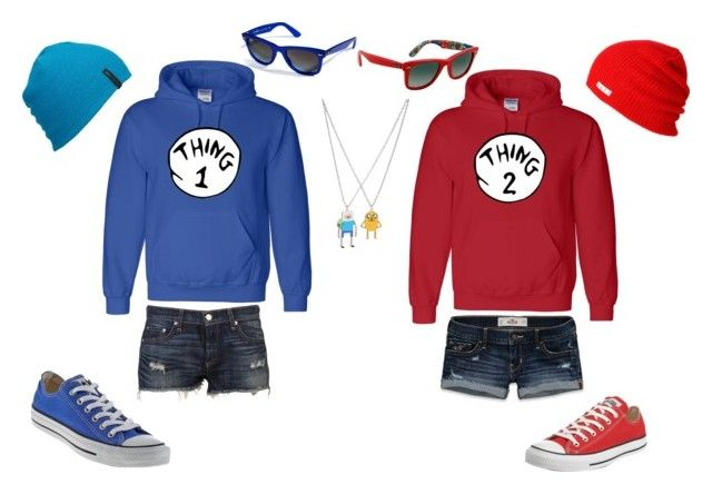"""Best Friend Outfits"" by rhope ❤ liked on Polyvore featuring rag & bone, Hollister Co., Converse, Neff, Quiksilver and Ray-Ban"