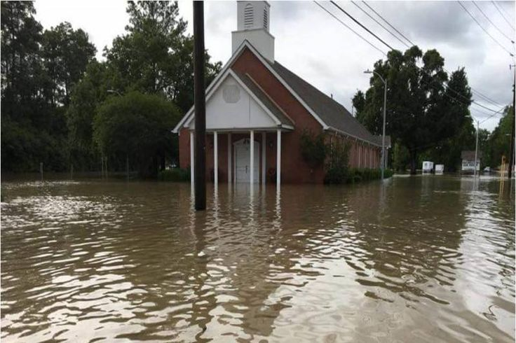 Texas church, washed out in 2016, flooded by Hurricane Harvey - United Church of Christ