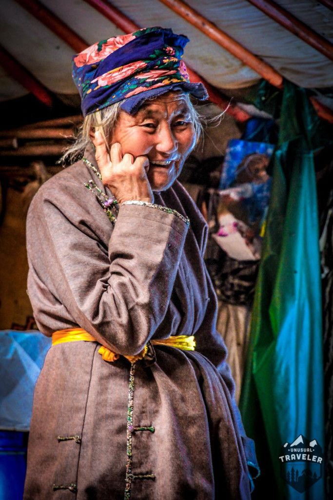 Old Mongolian woman in her yurt in Monglia. #Mongolia,#travel,#portrait,#asia
