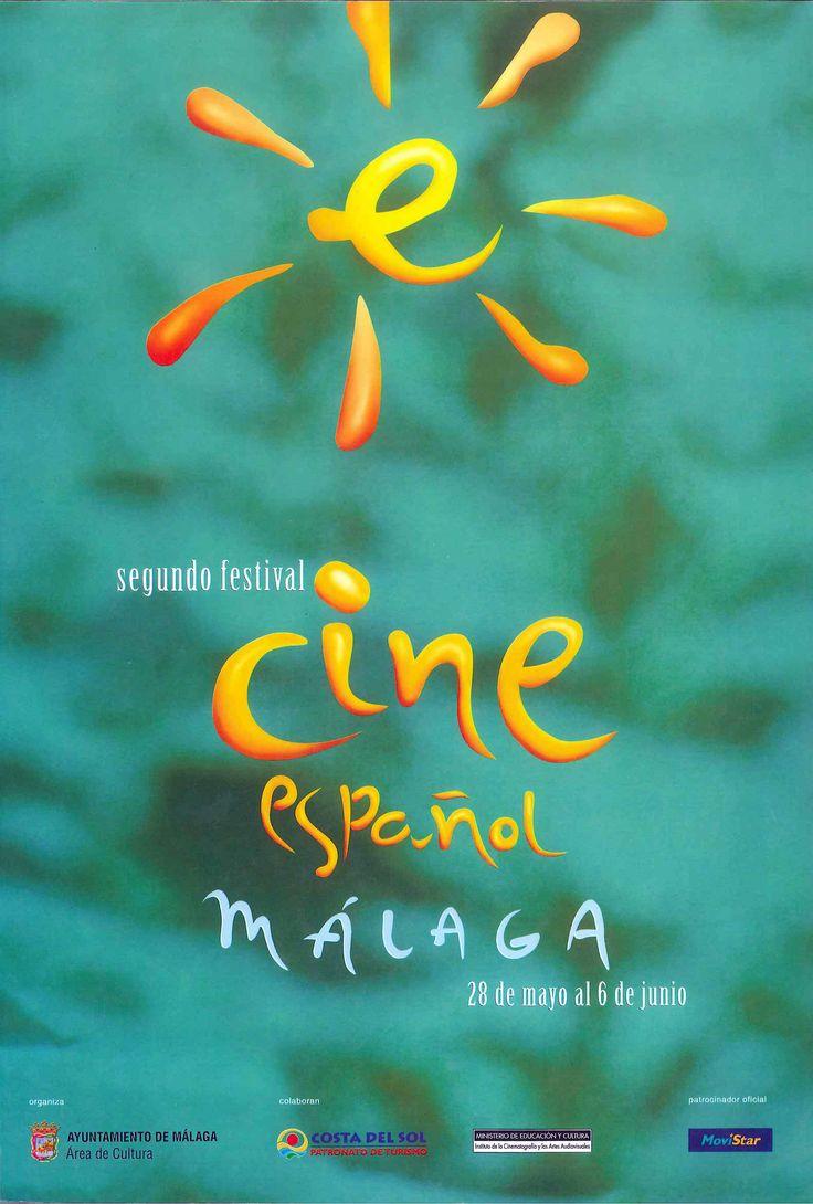 Cartel Festival Cine Malaga 1999