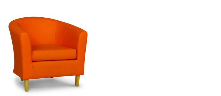 £99 - Faux Leather Orange Tub Chair - Orange PVC tub chairs are easy to wipe clean and are extremely hard wearing. Perfect for use at home, whether in the lounge, conservatory or even the bedroom, these tub chairs will not disappoint. www.tubchairs.com - #fauxleather #chair #orange #furniture #modernfurniture #modern #tubchair