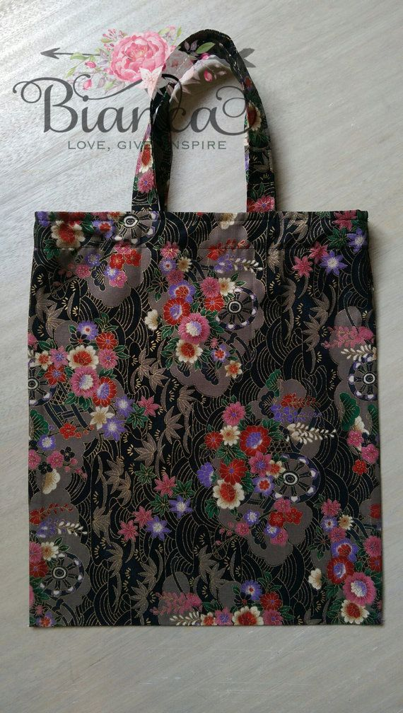 Asian inspired library bag https://www.etsy.com/au/listing/247634499/library-bag-book-bag-fabric-tote-tote