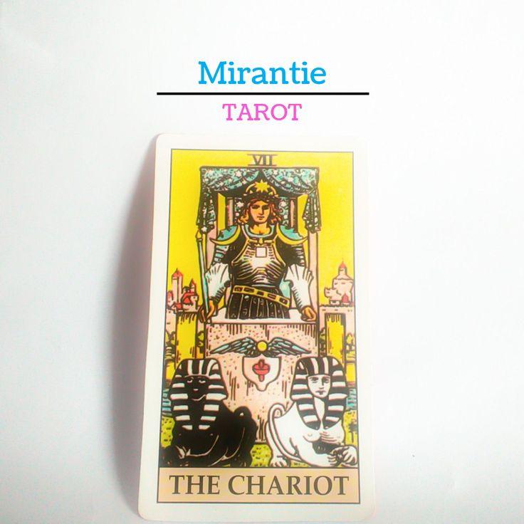 Today I got this Mayor Arcana The Chariot!  Saya akan rangkum arti dan representasi gambar kartu Tarot versi Waite di situs saya secepatnya.