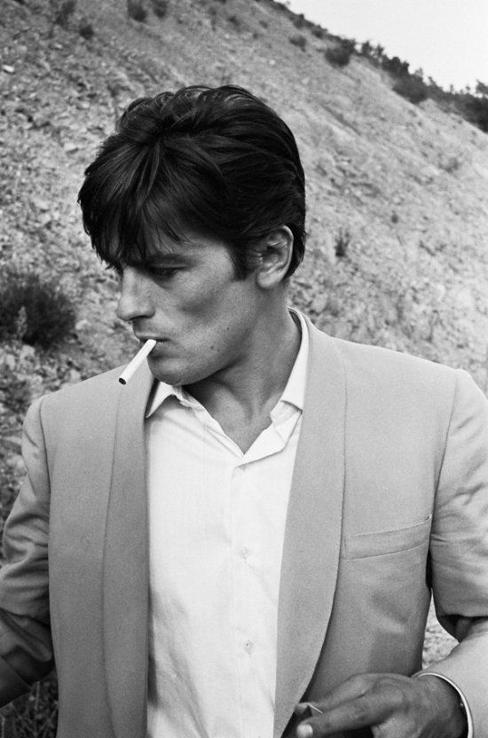 Alain Delon, French film star of the 60s & 70s