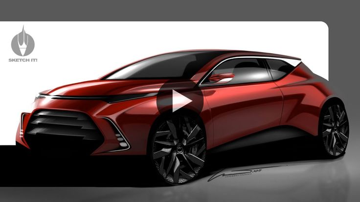 Car studio render Photoshop demo by Leandro Trovati