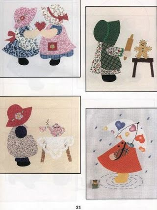 Archivo de álbumes. The Ultimate Sunbonnet Sue Collection