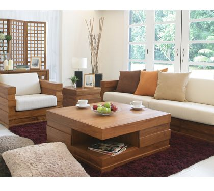 Redefining Simplicity As Well As Functionality Scanteak Is The Furniture Store That Offers Beautifully Designed And Concept Home Home Design Plans Sofa Design