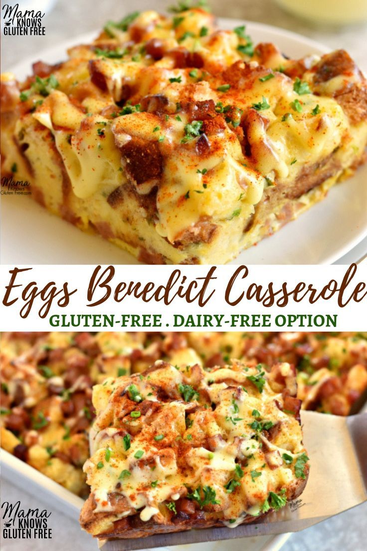 Everything you love about Eggs Benedict in an easy overnight breakfast casserole…