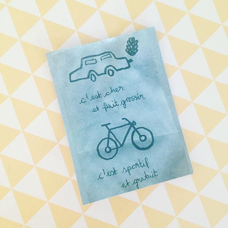 Le petit mot laissé sur mon pare-brise  Je lutte contre les prospectus laissés sur les voitures a l'Université mais celui là je le trouve mignon  by julie_bananapancakes