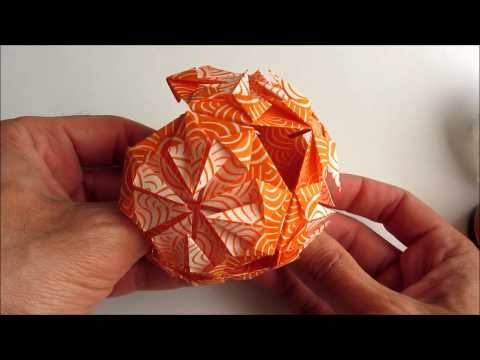 Modular Origami Coaster Tutorial - Sonobe Units - Paper Kawaii | 360x480