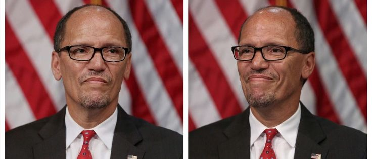 """Newly elected Democratic National Committee chairman Tom Perez campaigned for Democrats in Newark, New Jersey Friday by telling a crowd theRepublican Party doesn't """"give a shit"""" about them.    Perez"""
