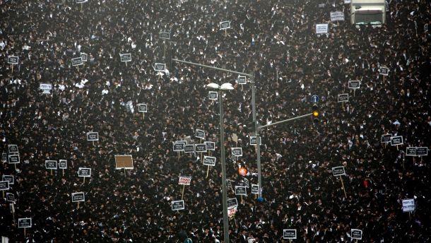 Massenprotest in Israel: Beten gegen die Wehrpflicht