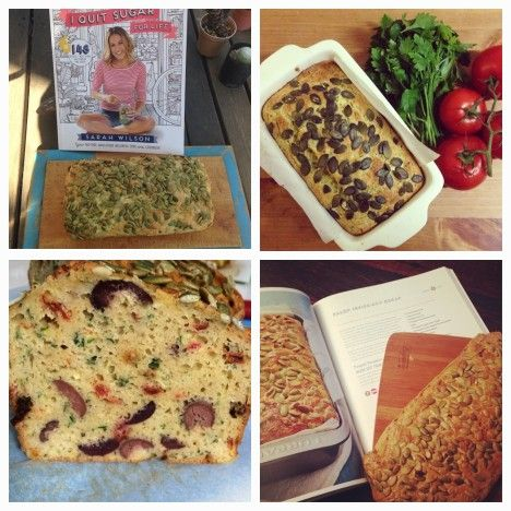 Paleo Inside-Out Bread. Photos (clockwise from top right) by @therealfoodie, @jarkakunova, @sherri78 and @foodnjunk.