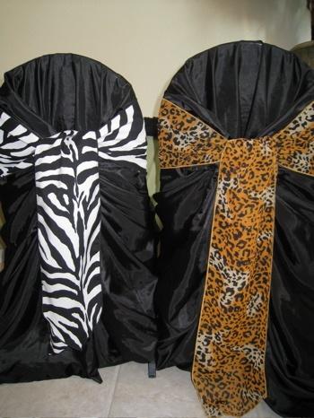 8 best zebra wedding ideas images on pinterest zebra wedding photo via wedding chairswedding chair decorationswedding junglespirit Images