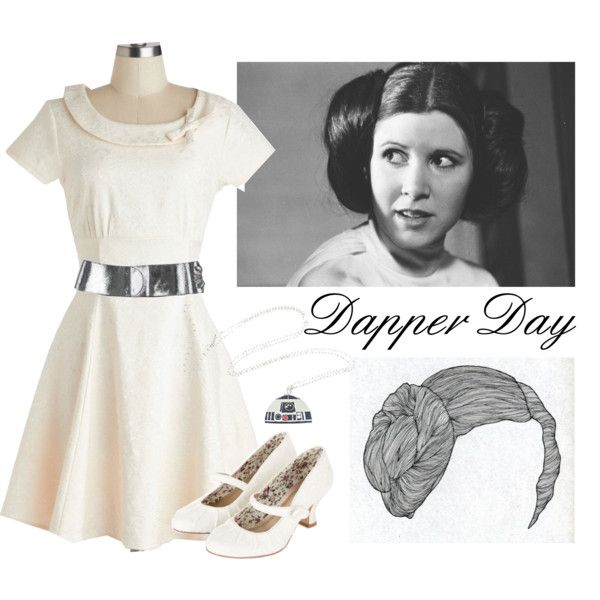 I might finally get to go to Dapper Day this year! I'm thinking my man and I will do Leia + Han?