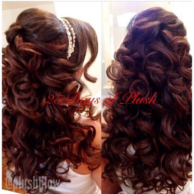 Quinceanera Hairstyles On The Side : 1824 best images about hair on pinterest medium length hairs