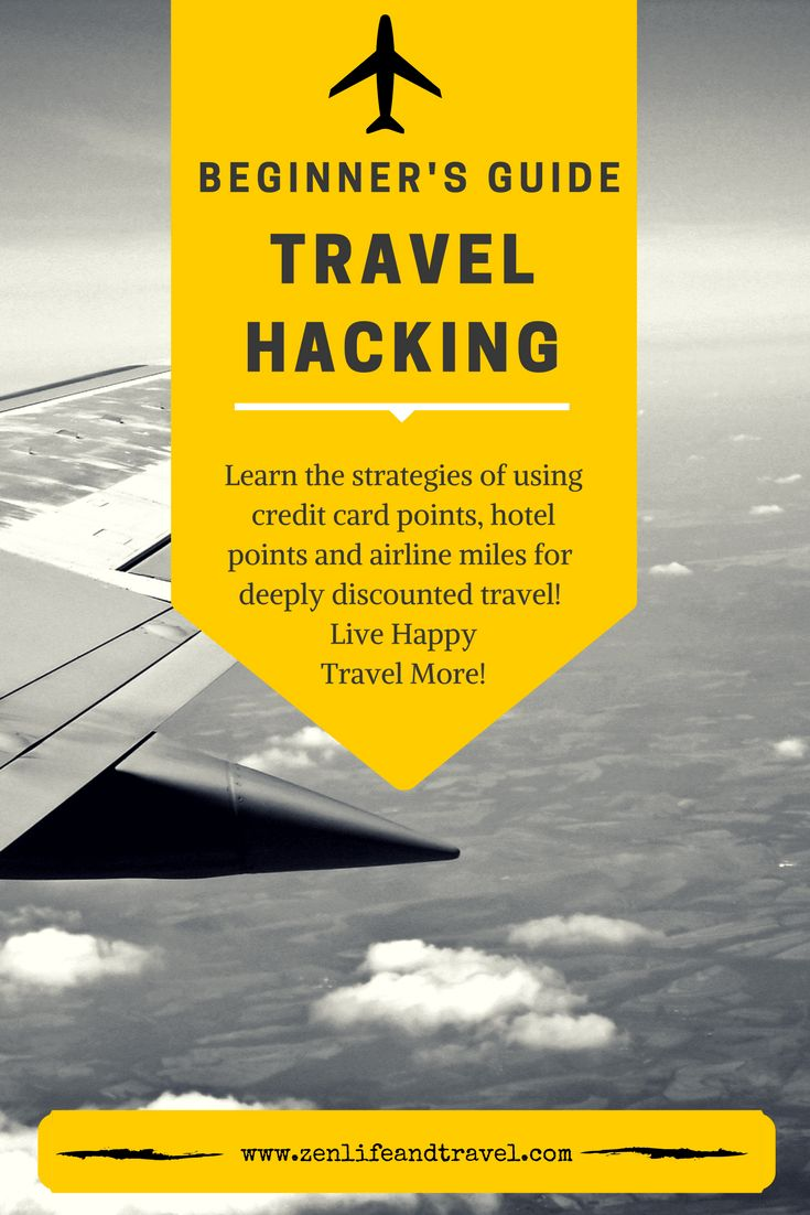 Travel Hacking Tips for Beginners!!  This guide will show you how to use credit card points, hotel points and airline miles for FREE travel!