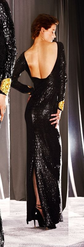 Tom Ford 2012: Women Fashion, Ford 2012, Style, Backless Dresses, Black Fashion, Fall 2012, Fall Winte 2012, Little Black Dresses, Tom Ford