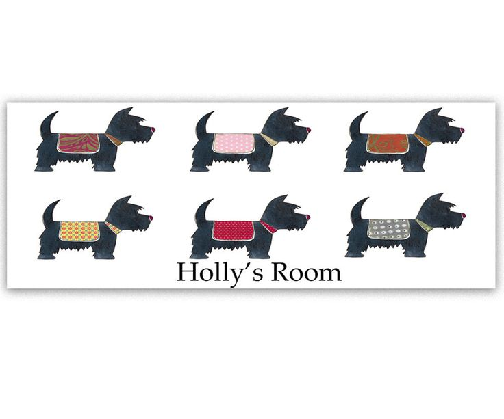 Bedroom Diir Signs, Girls Room Signs, Doggy Room Sign,Personalised, GIls Gifts by TigerlilyprintsLtd on Etsy