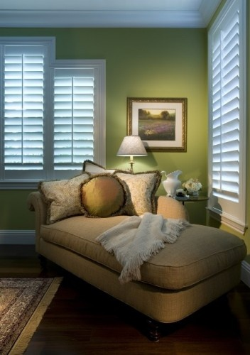 Plantation shutters, colors, decor in general.