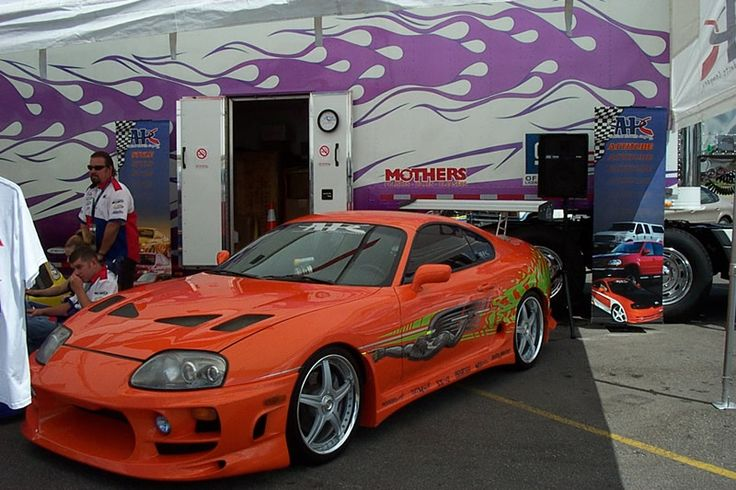 Toyota Supra the Fast and Furious legend will be sold at auction! Japanese automotive enthusiasts and in particular Fast and Furious film fans can now enjoy a unique opportunity to become owners of the famous Toyota Supra! The coupe will be sold in an auction to be held in May 2015! Even though they've built several clones of this sports car, the auction will b...