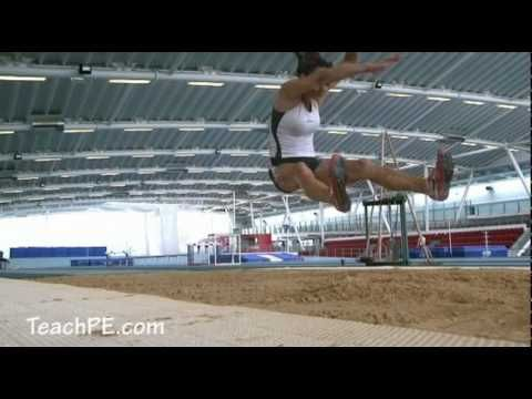 How to Improve your Long Jump Technique - YouTube. Flipped Classroom. Athletics. #pegeek