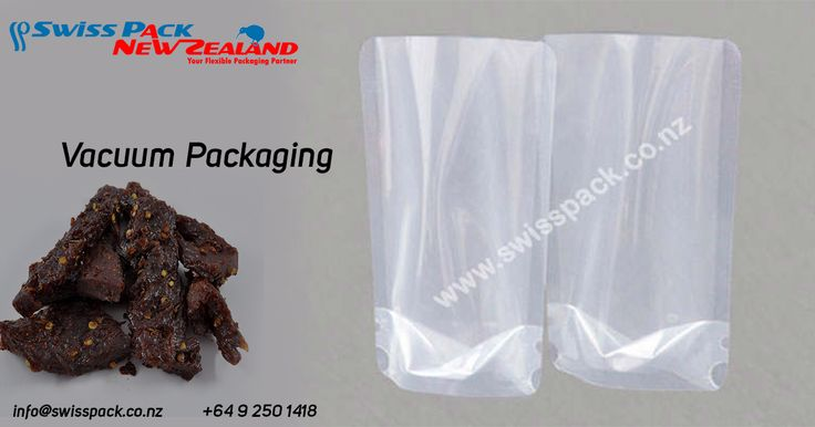 #Vacuum #packaging helps in maintaining the freshness, smell and taste of the products by providing excellent oxygen and moisture barriers. our #vacuumpouches, including various plastic films click here for more information : www.swisspack.co.nz/vacuum-packing/