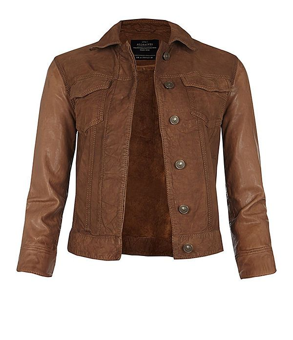 Womens Brown Denim Jacket | Outdoor Jacket
