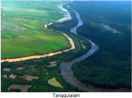 Natural Barrier of Two Rivers  ILMU ADALAH SENJATAMU: Bentukan Fluvial