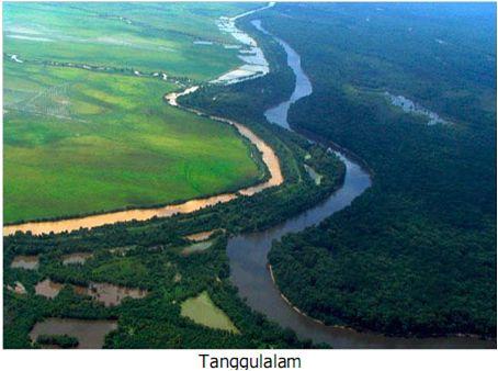 Natural Barrier of Two Rivers  ILMU ADALAH SENJATAMU: Bentukan Fluvial