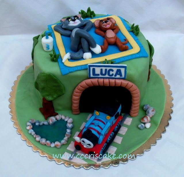 Torturi artistice: Thomas, Tom and Jerry