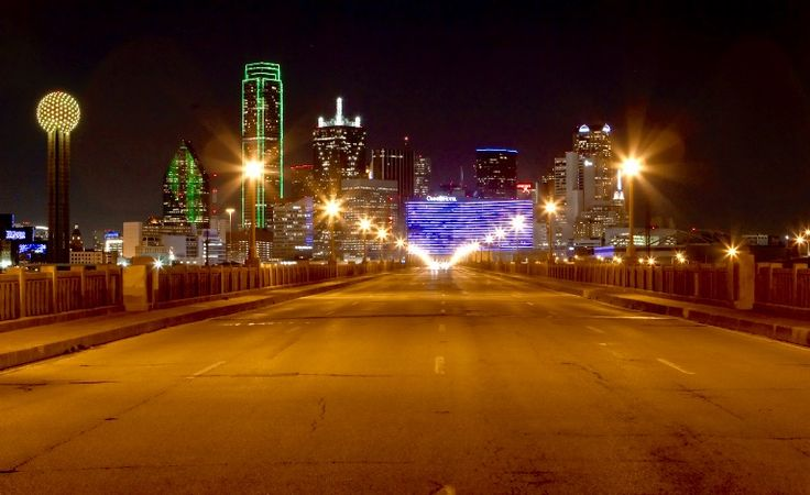 The Dallas, Texas skyline seen from the Houston Street viaduct, Thursday, Jan. 26, 2012.    (AP Photo/Brandon Wade)