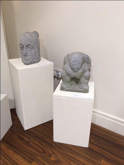 Irish Limestone Sculptures by Noel Hoare