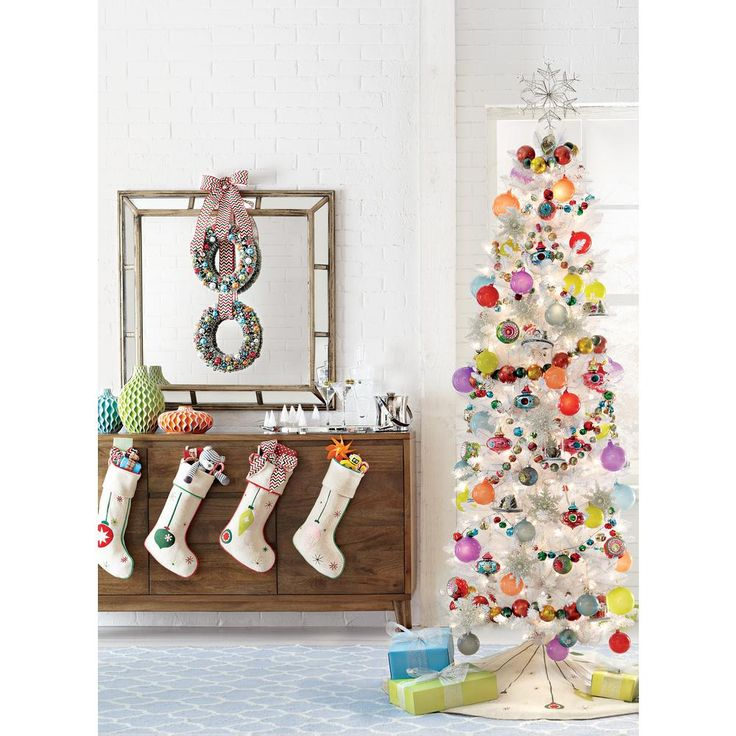 Tall Narrow Christmas Tree Artificial