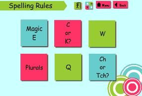 spelling rules game that teaches spelling rules in a dyslexia-friendly way