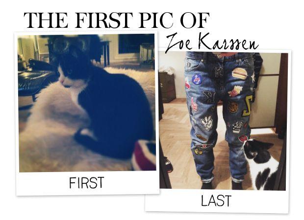 De eerste van onze #modevriendin #Zoe #Karssen. Omdat ze op dit moment een van de #tofste #modedesigners van #Nederland is.
