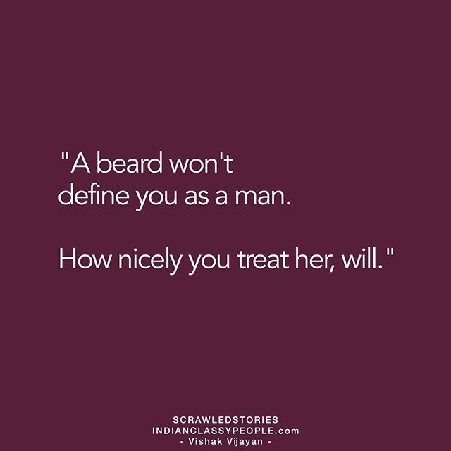 """Gentlemen treat ladies well"" Shared by @vishak__vijayan If you like the story, appreciate the writer by commenting."
