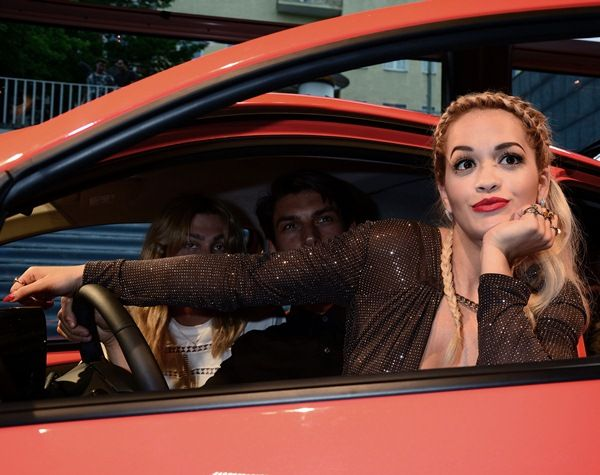 Rita Ora at the Toyota Aygo premiere at Pearl Club in Berlin, Germany, on July 2, 2014