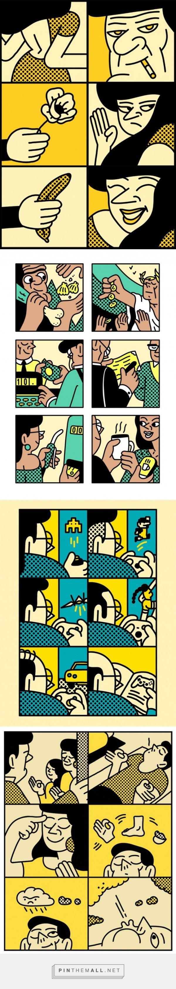 Pop Illustrations by Simon Landrein – Fubiz™