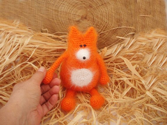 Ludwig the Ingenuous Fox #soft toys #crochet pattern   #KnitAmiracle #crochet #crochet fox #crochet toys #crochet animal #DIY crochet toy #doll #toys #dol making #toys crochet patterns #crochet pattern